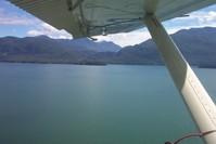 flyin in a little sea plane 4