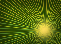 Retro Radial Photo File - Green
