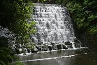 waterfall at Harewood