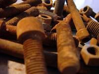 rusty old screws