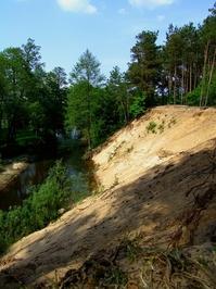 Small river around city