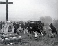 Chocho Indian funeral, Mexico