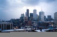 Toronto skyline by day