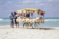 Vendeur sur la plage