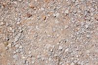 Gravel road texture