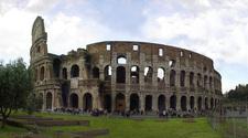 rome colosseum pano