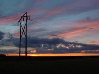 Saskatchewan Sunset Sky