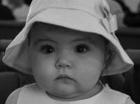 Little Girl on Easter