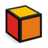 coloured box