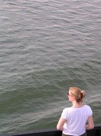 Stranger Looking Across the Ba