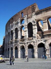 Italien Rom Kolosseum