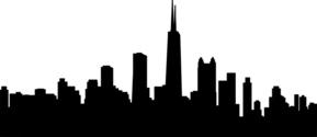 Chicago City Skyline 4