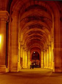 passage to lourve, paris
