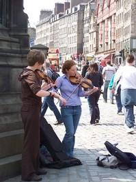 street fiddlers