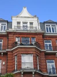red brick building detail