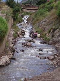 Pisac river - Cusco