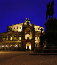 Semperoper Dresden Sxony Germa