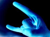 Bizarre hand signals