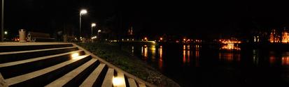 Wroclaw at Night, Slodowa Island