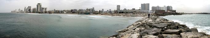 panorama of tel-aviv