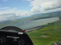 Gliding near Kinross in Scotland 7