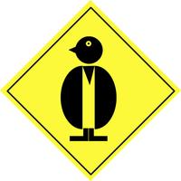 Warning sign - animal 5