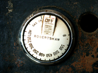 Gas knob