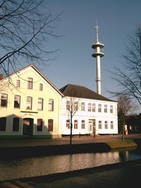 Papenburg City Life old Building Summer