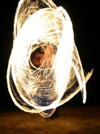 Rope on fire 1