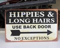 Beware of hippies