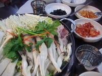 Korean mushroom steamboat