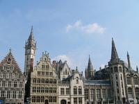 Ghent skyline