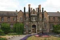 Brick-built mansion