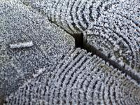 Frosty pole