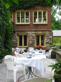 Terrace at the English Inn 1