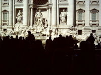 Trevi Fountain Rome Italy 1