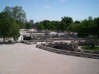 Nimes, Jardins de la Fontaine