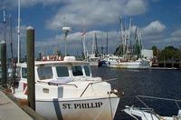 Sponge Boat at Dock