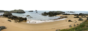 Beach of Noja (Santander)