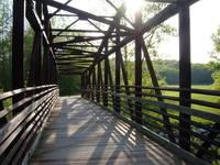 Bridge on the Katy Trail