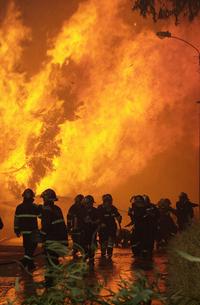 Mucho fuego
