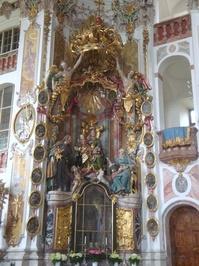 Bavarian Church interior