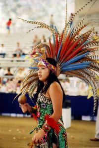 A mexican Tradition, LOS DANZANTES AZTECAS