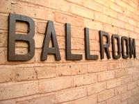 Ballroom sign