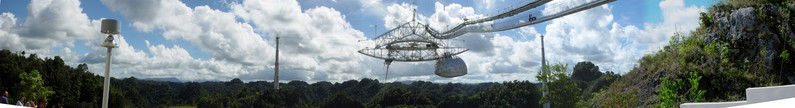 Arecibo Observatory Panorama