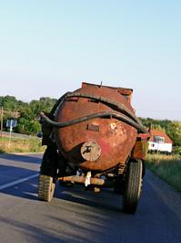 Rusty trailer