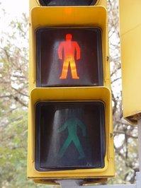 Spanish Traffic Light Red