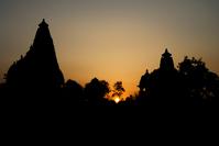 Sunset - Khajuraho