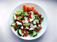 light feta salad