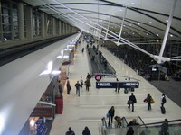 Detroit Airport Terminal